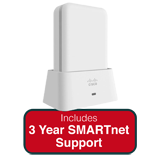 Cisco Aironet 1810 802.11ac Wave 2 OfficeExtend Access Point Bundle - Includes 3 Years SMARTnet 8x5 Next Business Day Support