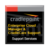 CradlePoint ECM & CradleCare 1 Year Bundle - Includes Enterprise Cloud Manager Subscription License & 24x7 CradleCare Support