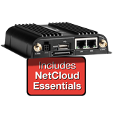 CradlePoint IBR650C Router (LPE Modem) for Verizon with NetCloud Essentials and 24x7 Support for 1 Year (no WiFi)
