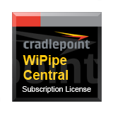 CradlePoint WiPipe Subscription (per device) License for 1 Year