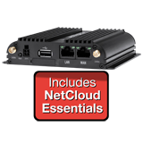 CradlePoint IBR600B-LP4 Router with WiFi - NetCloud Essentials and 24x7 Support for 1 Year