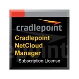 CradlePoint Enterprise Cloud Manager Subscription (per device) License for 1 Year