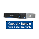EMC VNXe1600 Capacity System 18TB Bundle - 9x 2TB NL-SAS, Dual Controller, Base Software, 3 Year Warranty Support