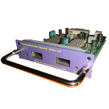 Summit XGM2-2XF I/O Module Option card, two unpopulated 10 Gigabit XFP slots, compatible with Summit X350, X450e, X450a