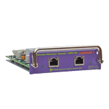 Summit XGM2-2BT I/O Module Option card, two 10GBASE-T Ports, compatible with Summit X350, X450e, X450a