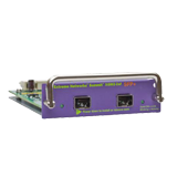 Summit XGM2-2SF I/O Module Option card, two unpopulated 10 Gigabit XFP slots, compatible with Summit X350, X450e, X450a