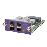 Summit XGM3SB-4SF (4) x 10GbE SFP+ port interface module, Compatible with Summit X460 & E4G-400