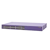 Summit X440-24p PoE-plus (24) 10/100/1000BASE-T, (4) 1000BASE-X SFP, SummitStack Ports, 1 AC PSU, ExtremeXOS Edge Lic.