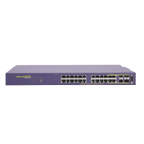 Summit X450a-24t-TAA (24) 10/100/1000BASE-T, Dual 10G Option Slot, (2) 10G Stacking Ports, AC PSU, ExtremeXOS Advanced Edge Lic.