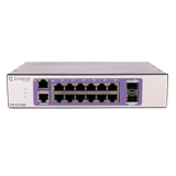 Extreme 210-12t-GE2 Managed Gigabit Switch - 210-Series 12 port 10/100/1000BASE-T, 2 1GbE Unpopulated SFP ports