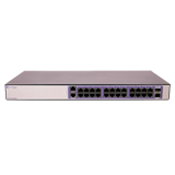 Extreme 210-24p-GE2 Managed Gigabit Switch - 210 Series 24 port 10/100/1000BASE-T PoE+, 2 1GbE unpopulated SFP ports