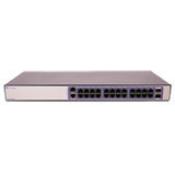 Extreme 210-24t-GE2 Managed Gigabit Switch - 210 Series 24 port 10/100/1000BASE-T, 2 1GbE unpopulated SFP ports