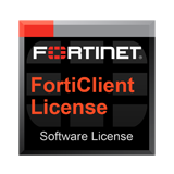 Fortinet FortiClient 1 Year Endpoint Telemetry & Compliance License Subscription for 2000 clients for FortiGate 500 & above