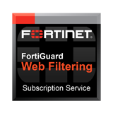 Fortinet FortiGate-3200D / FG-3200D Web Filtering Service Subscription for 1 Year (Hardware not included)