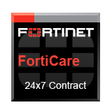 Fortinet FortiGate-2500E / FG-2500E Support Contract-1 Yr 24x7 Forticare plus FortiGuard-Anti-Virus, IPS/APCL, Web & Anti-Spam