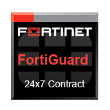 Fortinet FortiGate-3810A-DC Support Contract - 1 Year 24x7 Forticare plus FortiGuard (Anti-Virus, IPS/APCL, Web & AS)