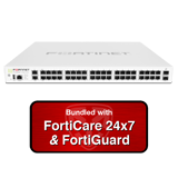 Fortinet FortiGate-140E / FG-140E Next Gen Firewall Security Appliance with 1 Year 24x7 Forticare and FortiGuard UTM Bundle