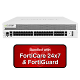 Fortinet FortiGate-2500E / FG-2500E NGFW Security Appliance Bundle with 1 Year 24x7 FortiGuard UTM Bundle & Forticare