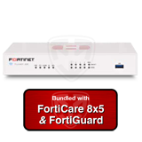 Fortinet FortiGate-30E / FG-30E Next Generation (NGFW) Firewall Appliance Bundle with 1 Year 8x5 Forticare and FortiGuard