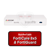 Fortinet FortiGate-51E / FG-51E Next Generation (NGFW) Firewall Appliance Bundle with 1 Year 8x5 FortiCare and FortiGuard