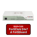 FortiGate 70D-POE Next Generation Firewall UTM Appliance with 1 Year 24x7 Forticare and FortiGuard