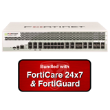 Fortinet FortiGate-1000C / FG-1000C Security Appliance NGFW Firewall Bundle with 1 Year 24x7 Forticare and FortiGuard