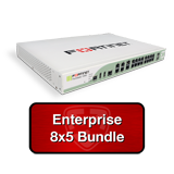 Fortinet FortiGate-100D / FG-100D Next Gen Firewall Security Appliance Bundle w/1 Year 8x5 Enterprise FortiCare + FortiGuard