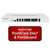 Fortinet FortiGate-100E / FG-100E Next Generation Firewall (NGFW) Appliance with 1 Year 24x7 Forticare and FortiGuard UTM Bundle