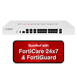 Fortinet FortiGate-101E / FG-101E Next Gen Firewall Security Appliance with 3 Years 24x7 Forticare and FortiGuard UTM Bundle