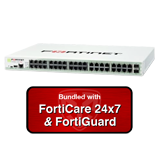 Fortinet FortiGate-140D / FG-140D Next Generation Firewall (NGFW) Appliance Bundle with 1 Year 24x7 Forticare and FortiGuard