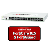 Fortinet FortiGate-140D / FG-140D Next Generation Firewall (NGFW) Appliance Bundle with 1 Year 8x5 Forticare and FortiGuard