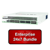 Fortinet FortiGate 1500D / FG-1500D Firewall UTM Appliance Bundle with 1 Yr 24x7 Enterprise FortiCare + FortiGuard