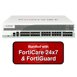 Fortinet FortiGate 1500D / FG-1500D Firewall UTM Appliance Bundle with 1 Year 24x7 FortiGuard UTM Bundle & Forticare