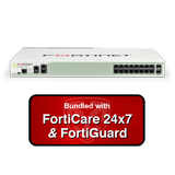 Fortinet FortiGate-200D / FG-200D Next Generation (NGFW) Firewall Appliance Bundle with 3 Years 24x7 Forticare and FortiGuard
