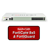 Fortinet FortiGate-200D-POE / FG-200D-POE Next-Gen UTM Firewall Appliance Bundle with 1 Year 8x5 Forticare and FortiGuard