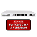 Fortinet FortiGate-201E / FG-201E Next Gen Firewall Security Appliance with 1 Year 24x7 Forticare and FortiGuard UTM Bundle