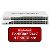 Fortinet FortiGate-280D-POE / FG-280D-POE Next Generation Firewall Appliance Bundle with 3 Years 24x7 Forticare and FortiGuard