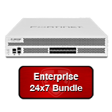 Fortinet FortiGate-3000D / FG-3000D Next Gen Firewall Security Appliance Bundle with 1 Yr 24x7 Enterprise FortiCare + FortiGuard