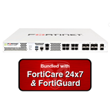 Fortinet FortiGate-500E / FG-500E Next Generation (NGFW) Firewall with 1 Year 24x7 Forticare and FortiGuard UTM Bundle