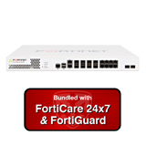 Fortinet FortiGate-600D / FG-600D Next Generation (NGFW) Firewall Appliance Bundle w/ 3 Years 24x7 Forticare & FortiGuard