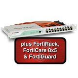 Fortinet FortiGate-60D / FG-60D Next Generation Firewall Appliance Bundle with FortiRack + 1 Year 8x5 Forticare and FortiGuard