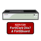 Fortinet FortiGate Rugged 100C / FGR-100C Next Generation (NGFW) Firewall UTM Bundle with 1 Year 24x7 Forticare and FortiGuard