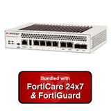 Fortinet FortiGate Rugged 60D / FGR-60D NGFW Firewall UTM Appliance Bundle with 1 Year 24x7 Forticare and FortiGuard