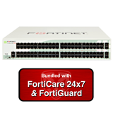 Fortinet FortiGate-98D-POE / FG-98D-POE Next Generation (NGFW) Firewall Bundle with 1 Year 24x7 FortiGuard Bundle & Forticare