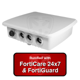Fortinet FortiGate Rugged 35D / FGR-35D Next Generation (NGFW) Firewall UTM Appliance Bundle w/1 Yr 24x7 Forticare + FortiGuard