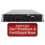 Fortinet FortiMail-2000E / FML-2000E Secure Email Gateway Base Bundle with with 24x7 Forticare and FortiGuard - 1 Year