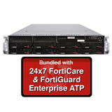 Fortinet FortiMail-2000E / FML-2000E Secure Email Gateway Enterprise ATP Bundle with with 24x7 Forticare and FortiGuard - 1 Year