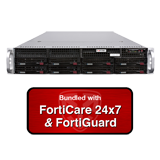 Fortinet FortiMail-2000E / FML-2000E Email Security Appliance Bundle with 1 Year 24x7 FortiCare and FortiGuard