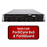 Fortinet FortiMail-2000E / FML-2000E Email Security Appliance Bundle with 1 Year 8x5 FortiCare and FortiGuard