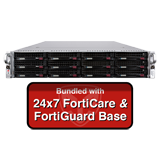 Fortinet FortiMail-3000E / FML-3000E Email Security Appliance Base Bundle with with 24x7 Forticare and FortiGuard - 1 Year